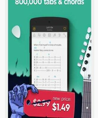 Ultimate Guitar Tabs & Chords Apk 5.8.21 for android