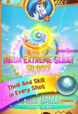 Peggle Blast 2.23.0 Apk + Mod (infinite lives) + Data for android